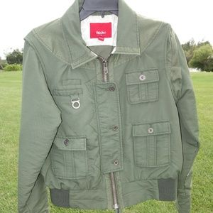 Like new women's Mossimo bomber flight jacket XL